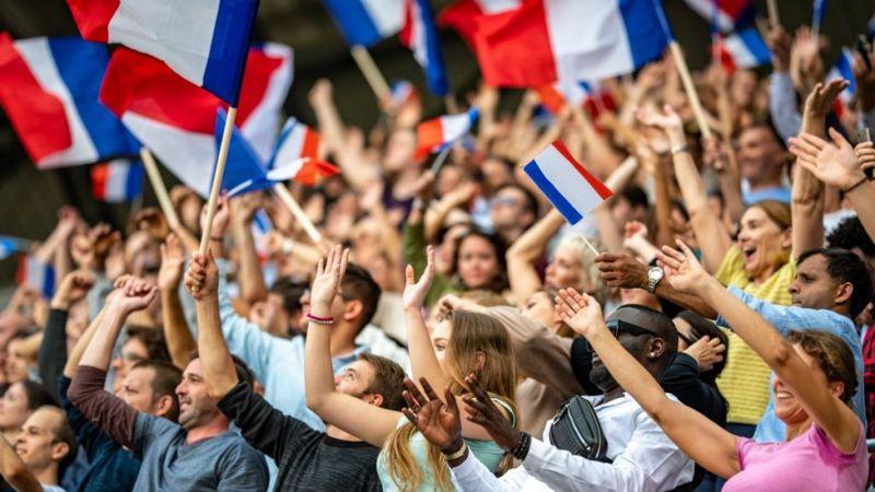 Patriotism's more positive image