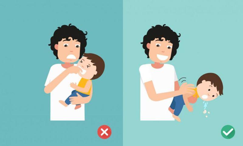 Choking Remove Object Myth Danger
