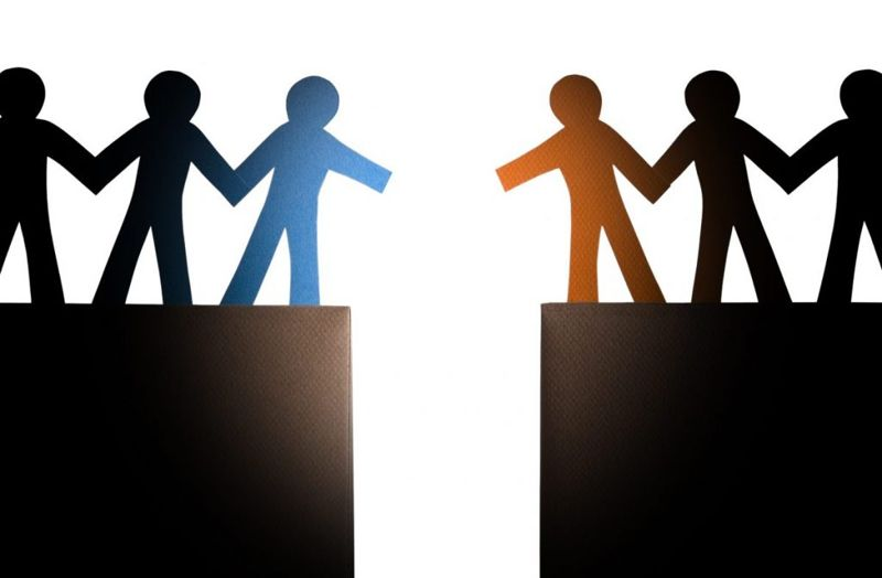Nationalism breeds division