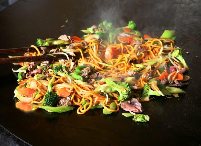 mongolian shrimp beef