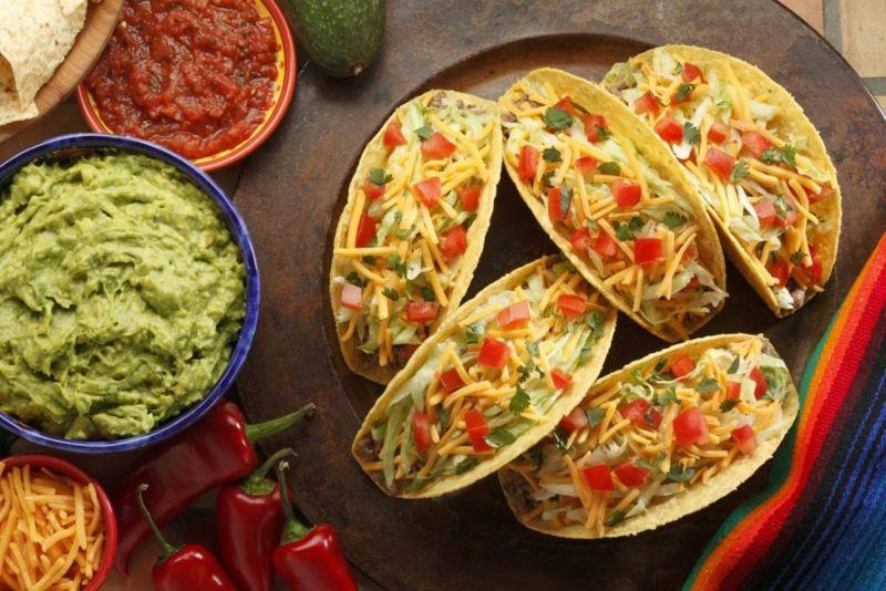 tacos mexican fiesta