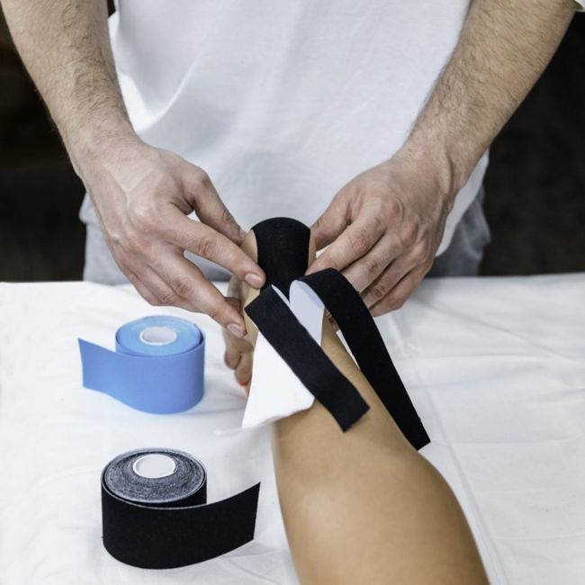 taping treatment for hammer toe