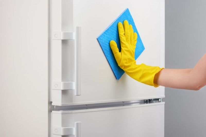 rinsing appliance door after whitening
