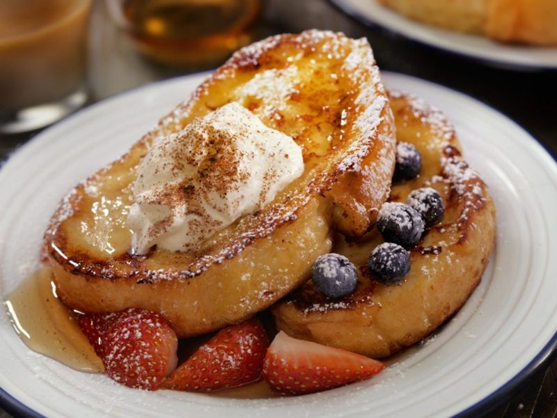 French toast in New Orleans