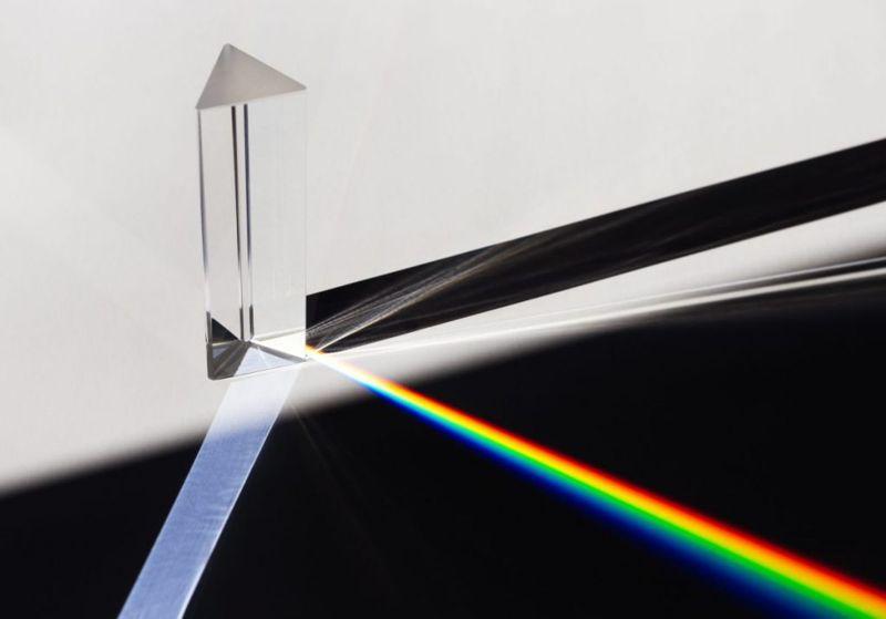 light photon rainbow spectrum