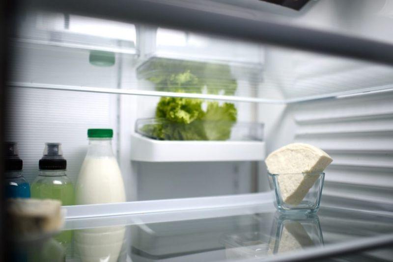 thaw milk fridge