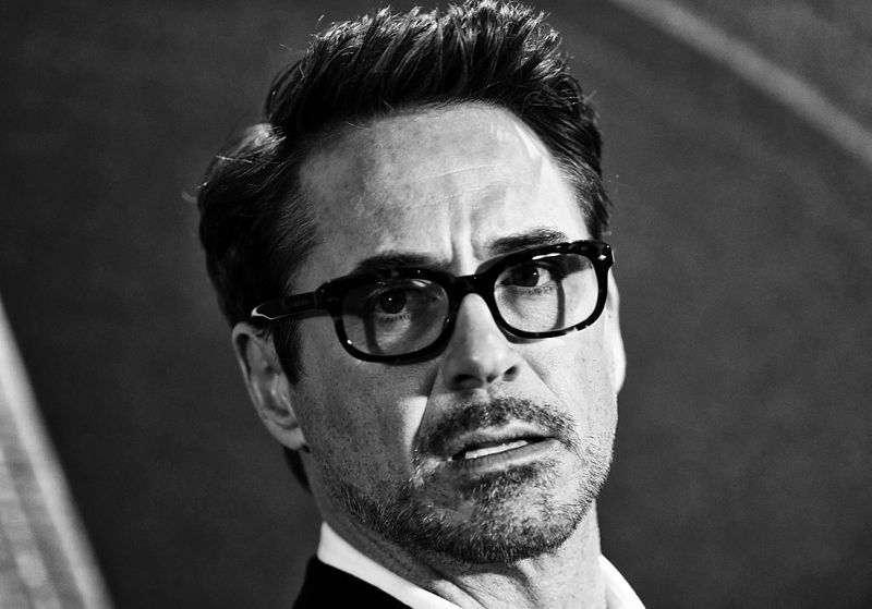 """Robert Downey Jr. attends a photocall for """"Captain America: Civil War"""" at Corinthia Hotel London on April 25, 2016 in London, England."""
