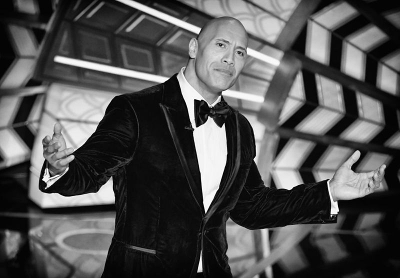 Actor Dwayne Johnson speaks onstage during the 89th Annual Academy Awards at Hollywood & Highland Center on February 26, 2017 in Hollywood, California.