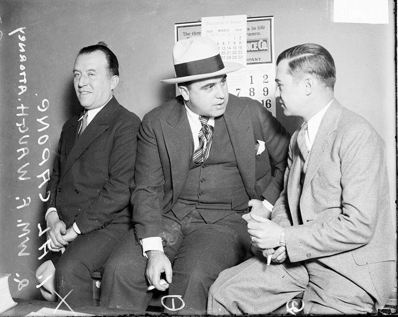 William Waugh With Al Capone