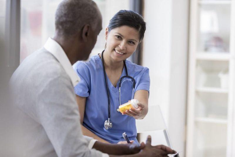 prescribe medication treatment