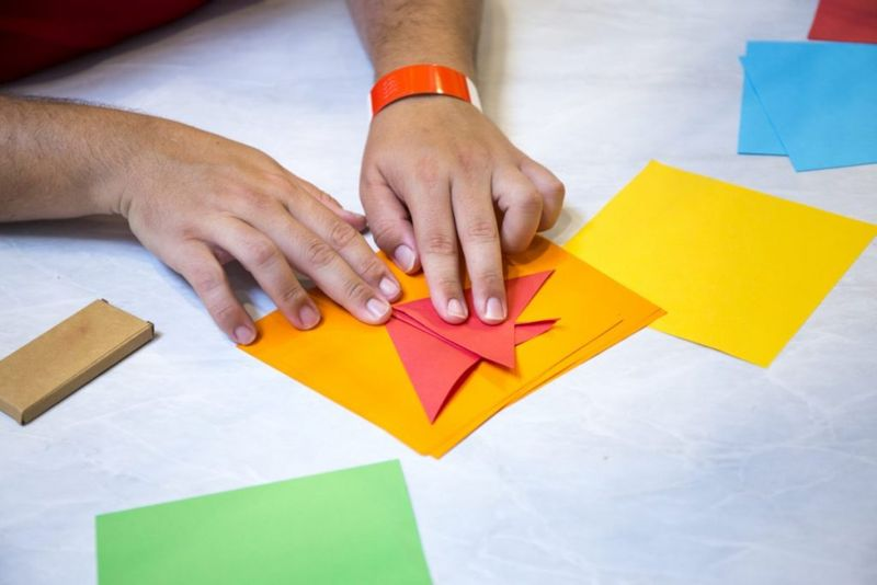 origami paper sheets