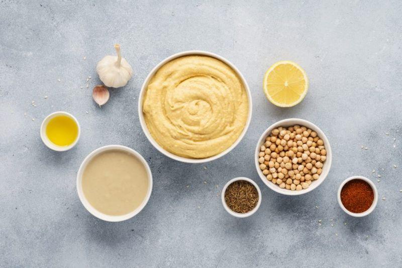 ingredients in hummus