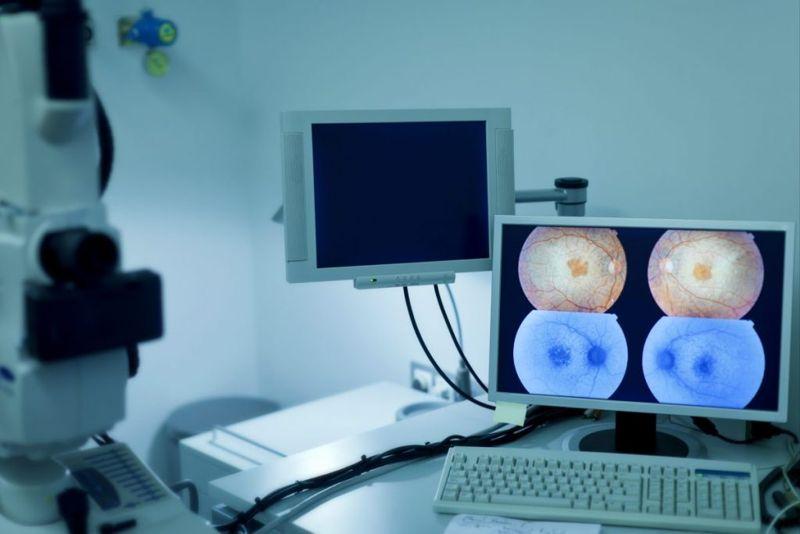 modern ophthalmology equipment