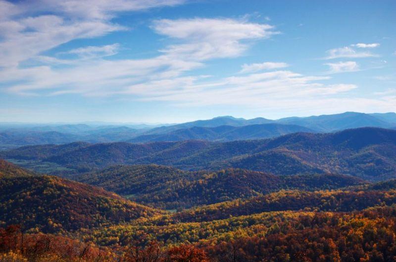 virginia autumn rural
