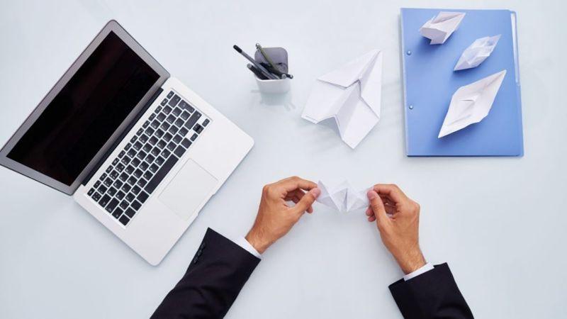 copy paper origami