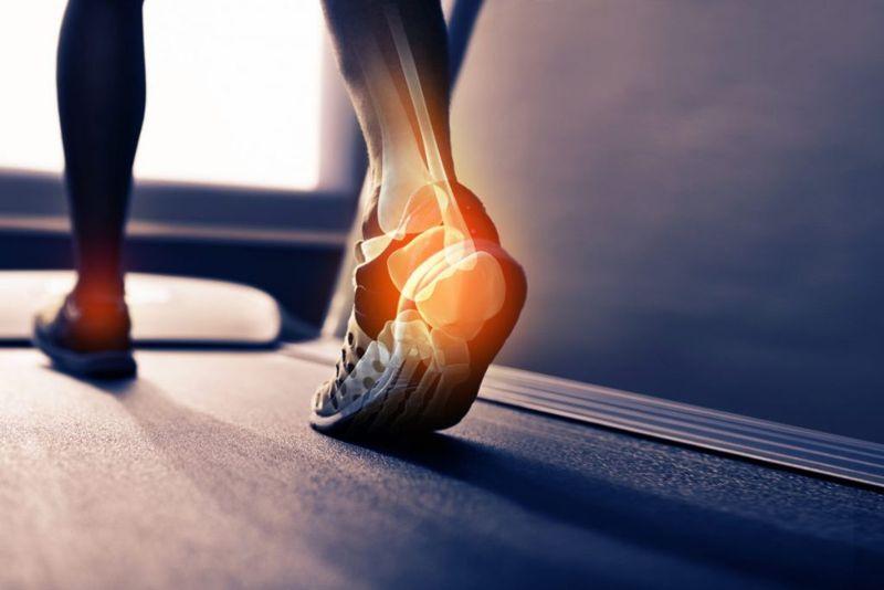 ankle joint proper walking