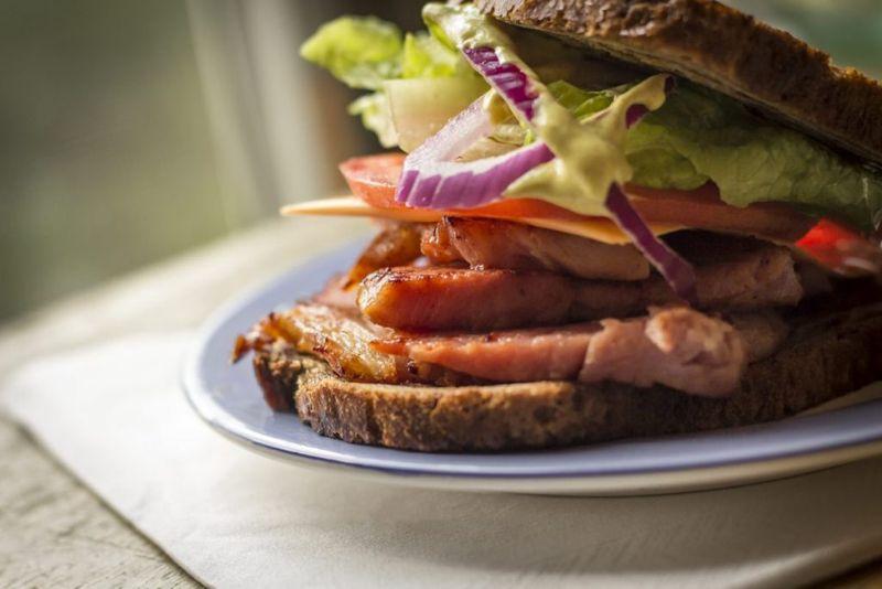 leftover sandwich wrap