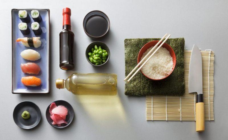 sushi making supplies Japanese food equipment