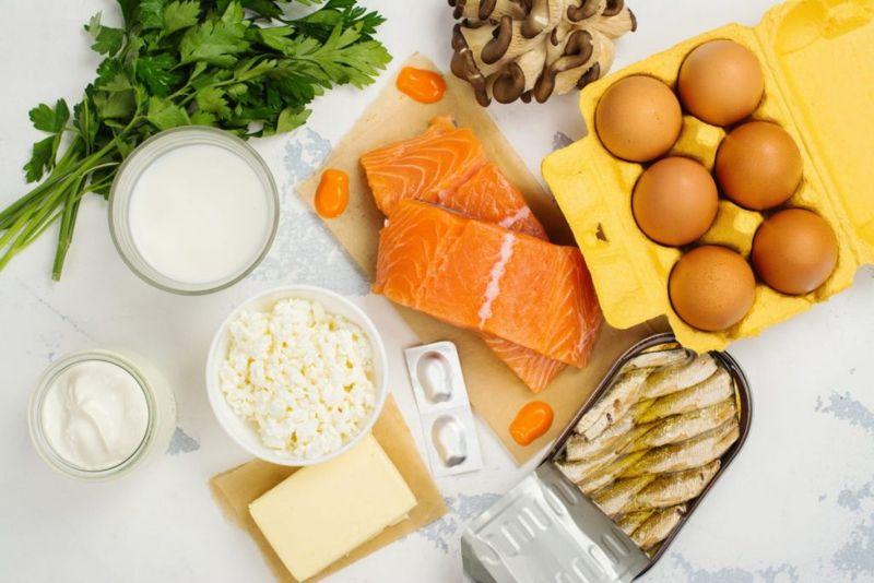 vitamin D sources fish eggs