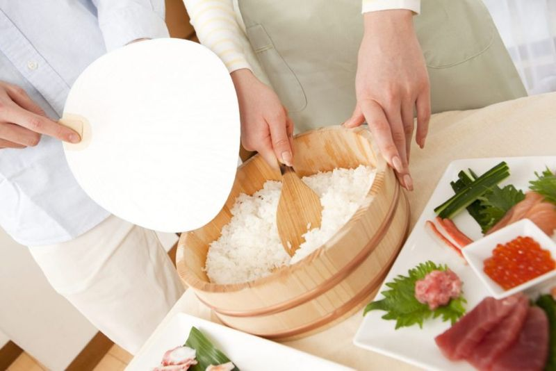 sushi seasoning vinegar japan food
