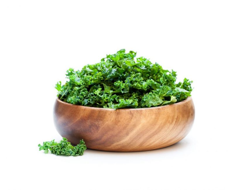 Kale is a healthy salad green