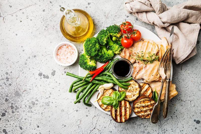 healthy food DASH diet