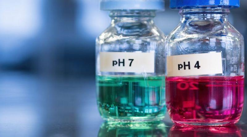 pH range acidic mouth demineralization