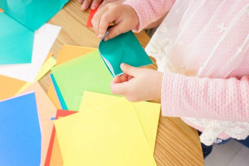 square folding origami