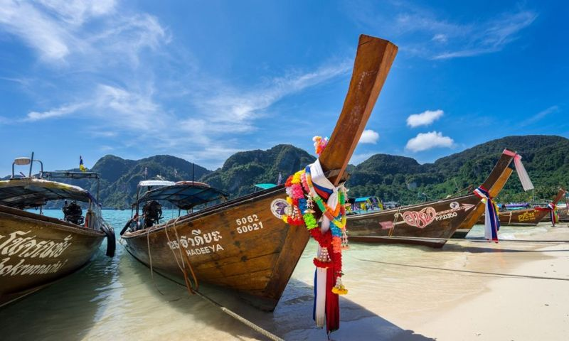 Koh Phi Phi (Tonsai Pier), Ao Nang, Thailand