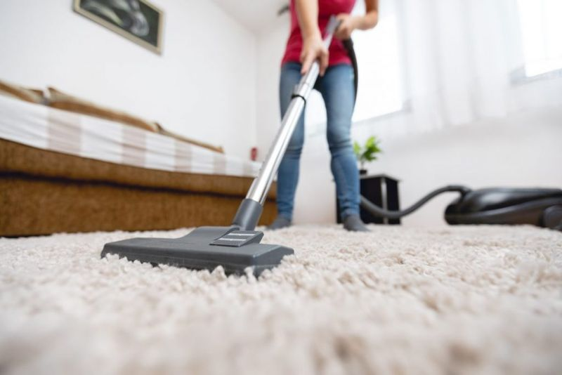 carpet and vacuum