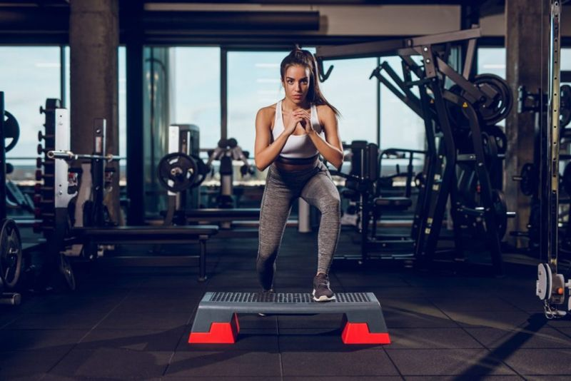 Step-Up Glutes Hips