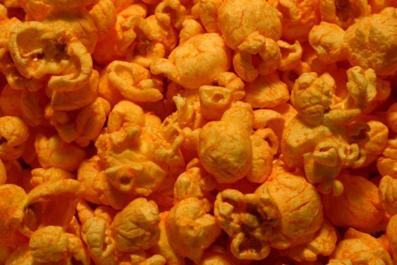 cheese powder popcorn