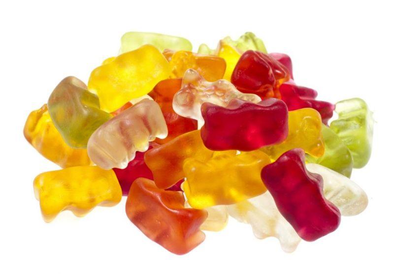 gummy bear Jell-O shot