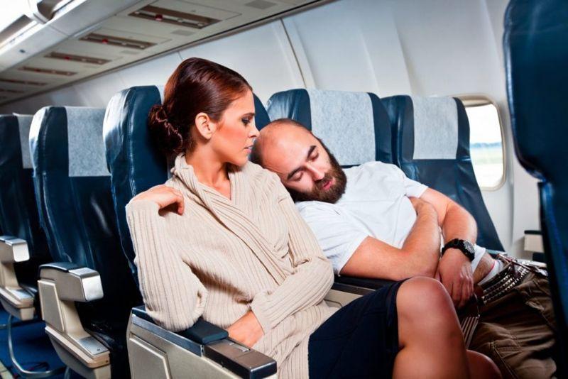 Airplane awkwardness