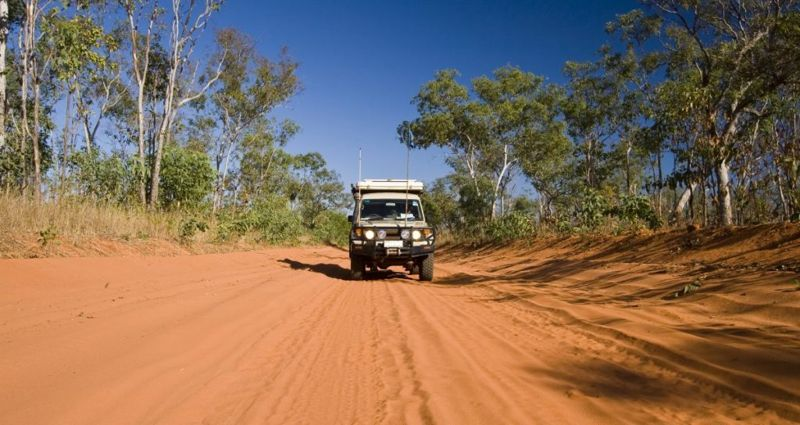 The Outback in Queensland, Australia