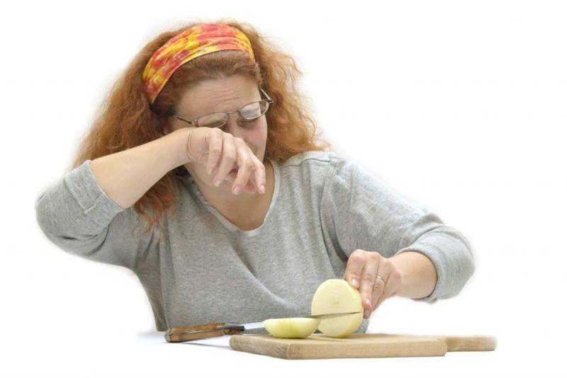Onions Cause Human Eye Irritation