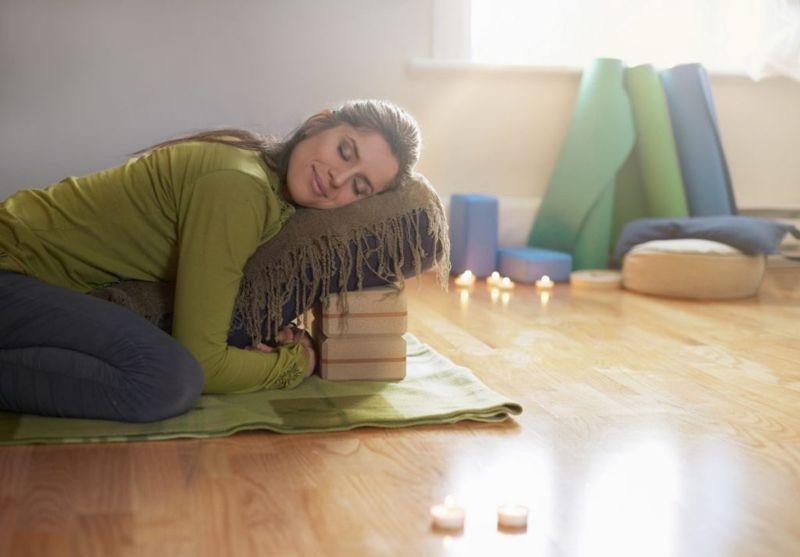 Restorative Yoga Prop