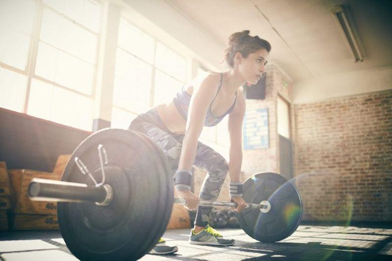 Deadlift Barbell Muscle
