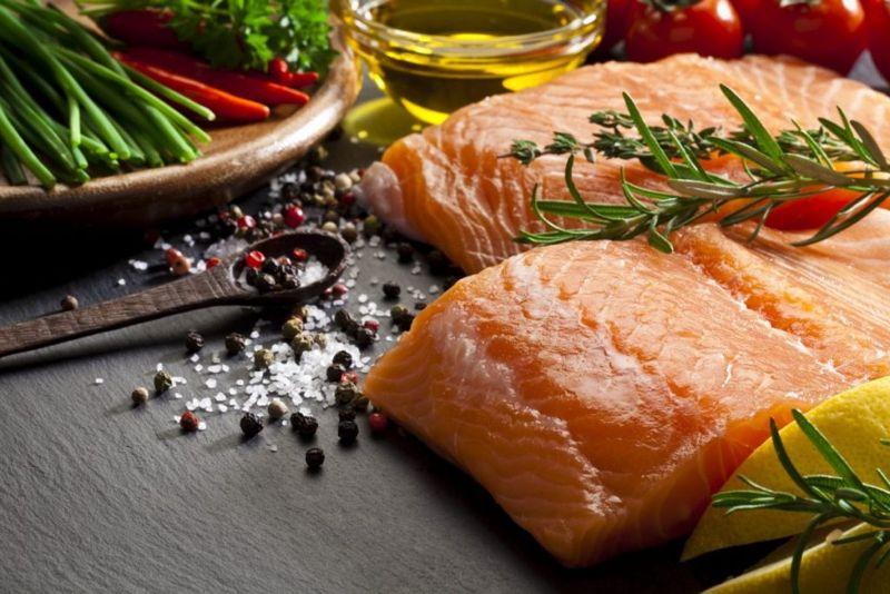 Salmon Seafood Moderation