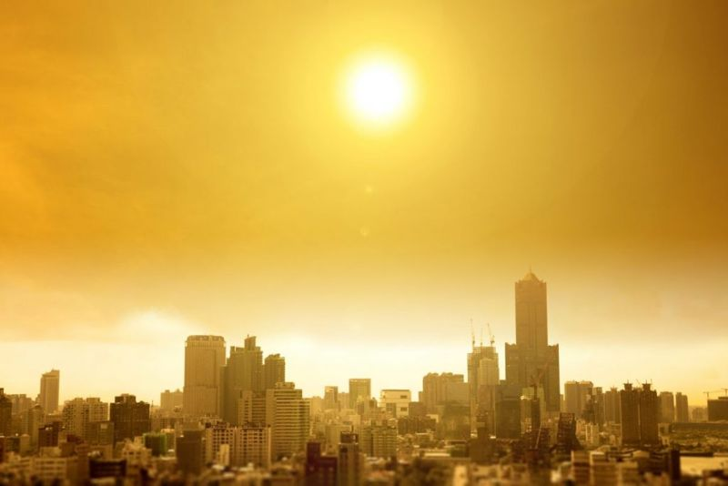 City heat wave