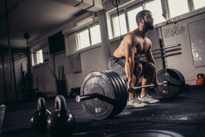 Deadlifting Testosterone Releasing Whole Body