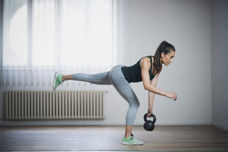 Kettlebell Swing Workout