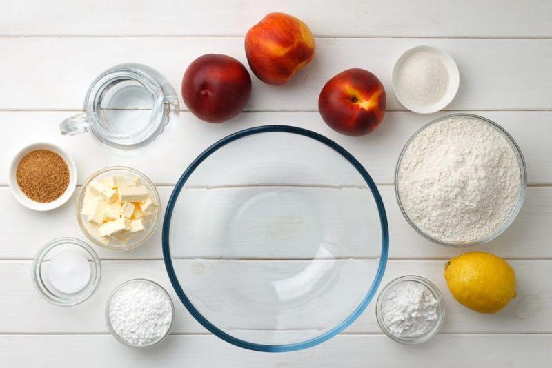 peach cobbler ingredients