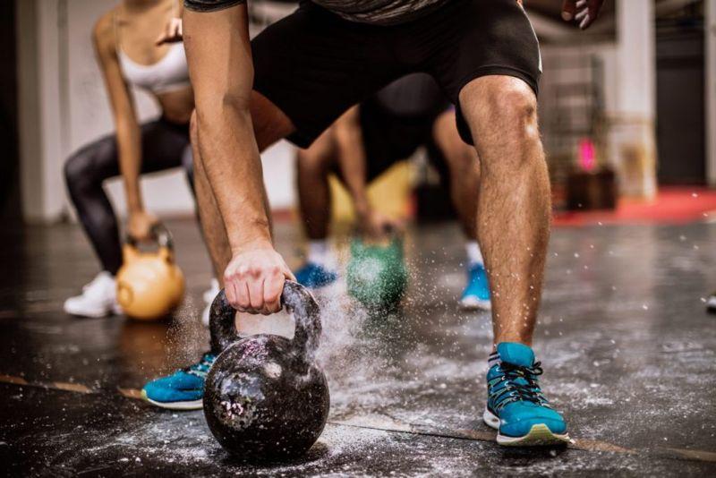 weight-training exercise
