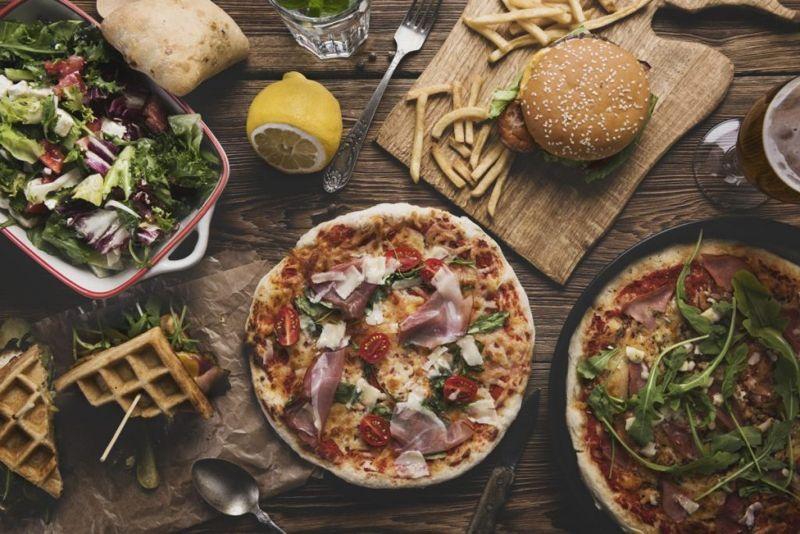 dog friendly, pizza, sauce, dough