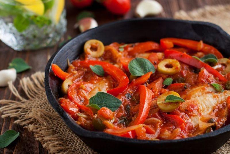 tilapia fish vegetables stew
