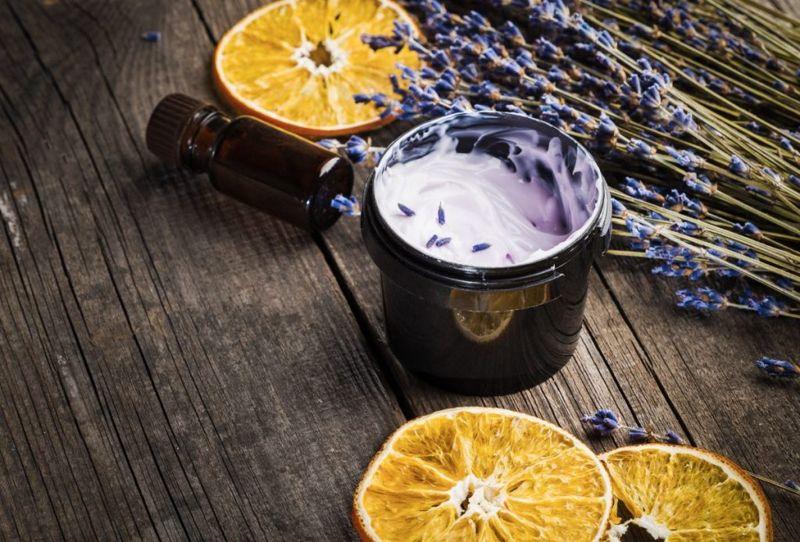 lavender oil, antimicrobial, scalp health