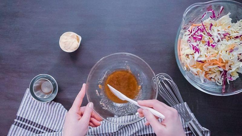coleslaw dressing mayonnaise vinegar sugar