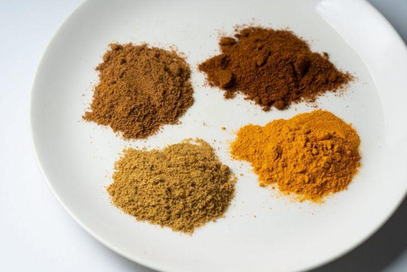 powdered golden milk spices