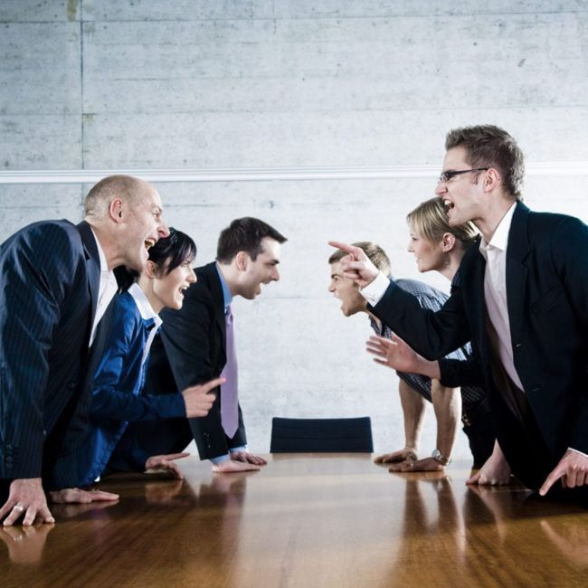 group conflict anger relationships